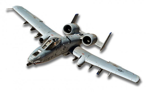 A-10 Warthog Plasma Metal Sign