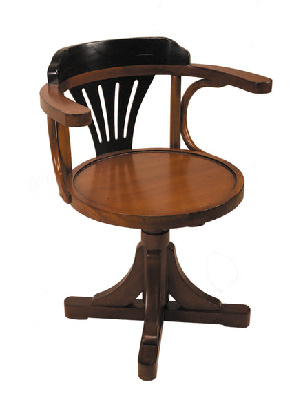 Purser's Chair - Black