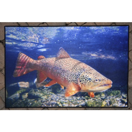 Brown Trout Floor Mat