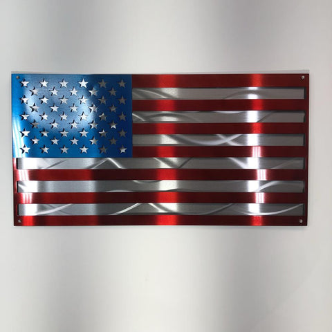 Double Layered US Flag