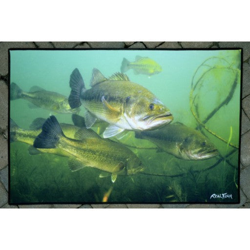 Largemouth Bass Floor Mat