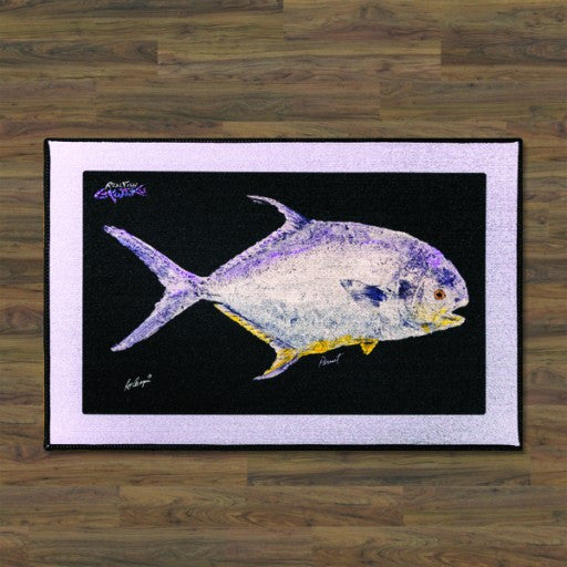 Realfish Permit Floor Mat