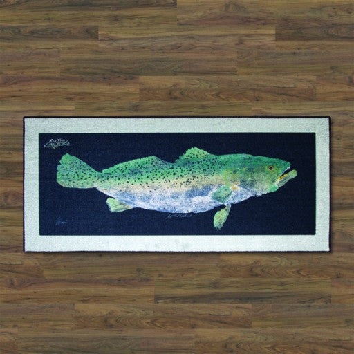Realfish Spotted SeaTrout Floor Mat