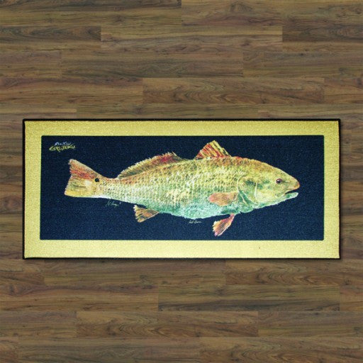 Realfish Redfish Floor Mat