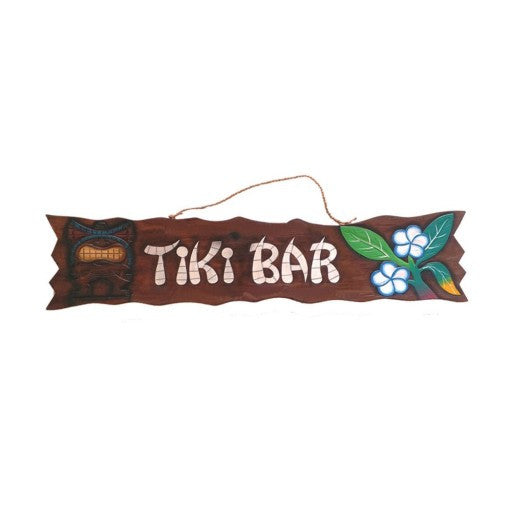 """Tiki Bar"" Outdoor Sign"