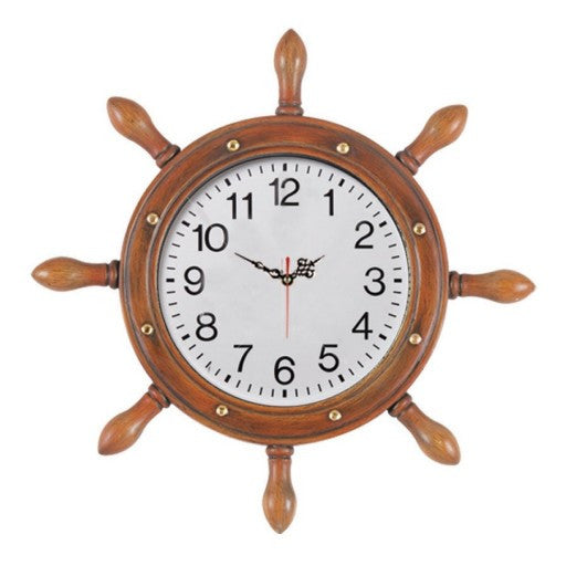 Outdoor Large Captains Wheel Clock