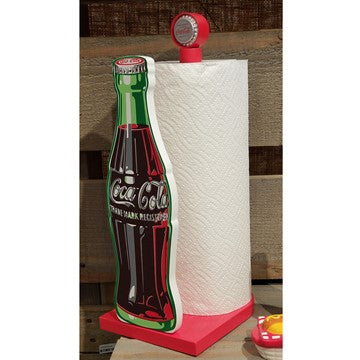 Coca-Cola Contour Bottle Paper Towel Holder