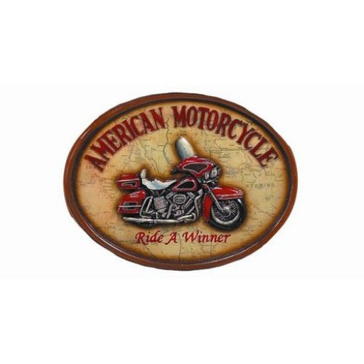 American Motorcycle Pub Sign