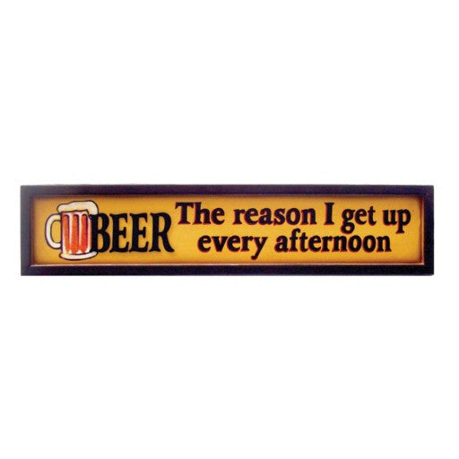 Beer Afternoon Sign