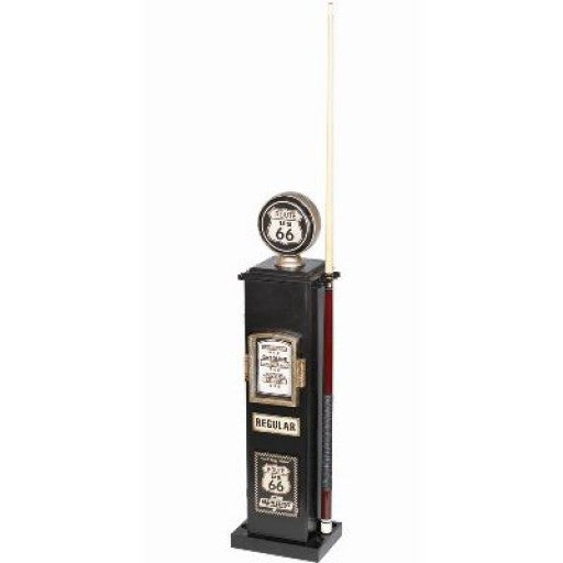Route 66 Gas Pump Pool Cue Holder