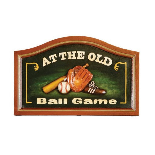 At the Old Ball Game Sign