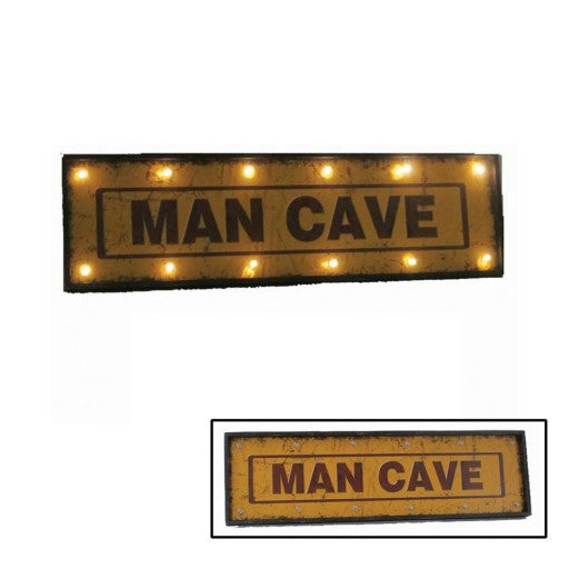 "48"" Man Cave Sign with Lights"