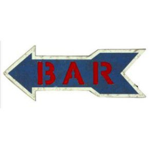 Bar Arrow Blue/Red with Lights