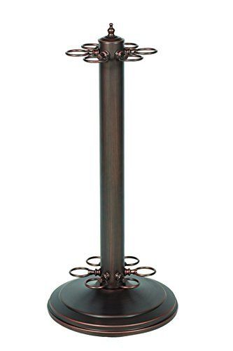 Metal Pool Cue Holder - Oil Rubbed Bronze