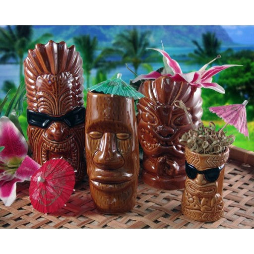 Tiki Mugs Party Drinkware