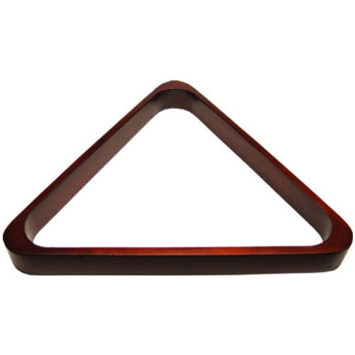 Deluxe Mahogany Pool Ball Triangle Rack