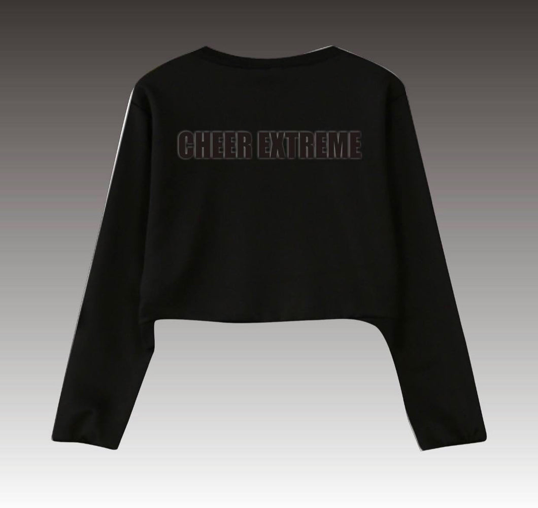 Crop Sweatshirt with 3D Cheer Extreme