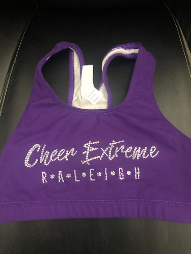 Cheer Extreme Raleigh AB Bling-  PURPLE