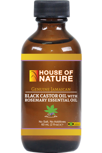 Black Castor Oil with Rosemary essential oil