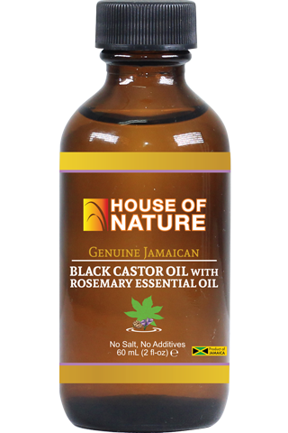 Black Castor Oil with Rosemary