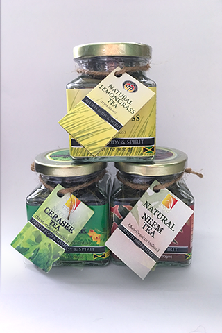 House of Nature Teas in Threes®  Package 2 - Cerasee, Lemongrass, Neem