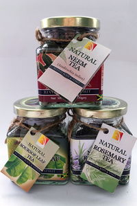 House of Nature Teas in Threes® Package 3 - Soursop, Rosemary, Neem