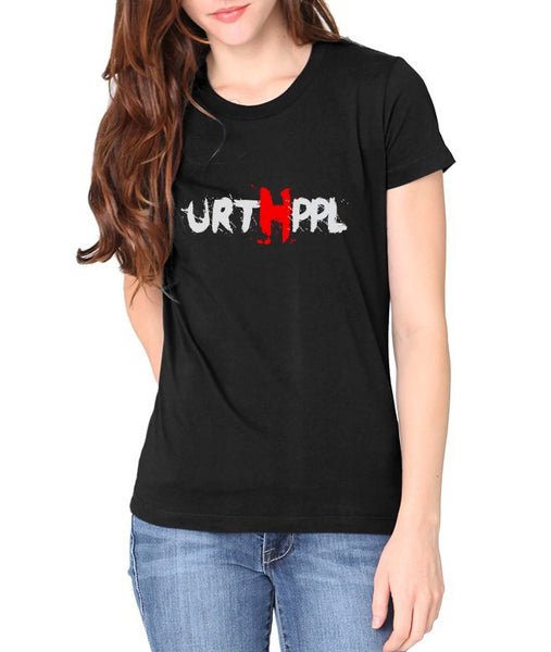 URTHPPL Logo Women's Tee-Soft Black