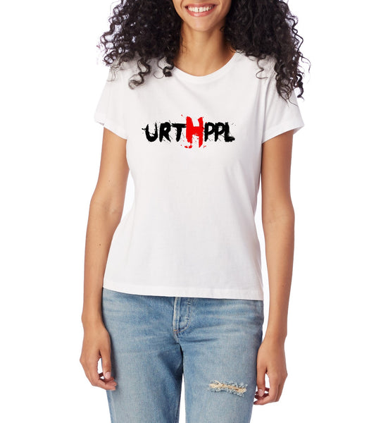 URTHPPL Logo Women's Tee-Natural