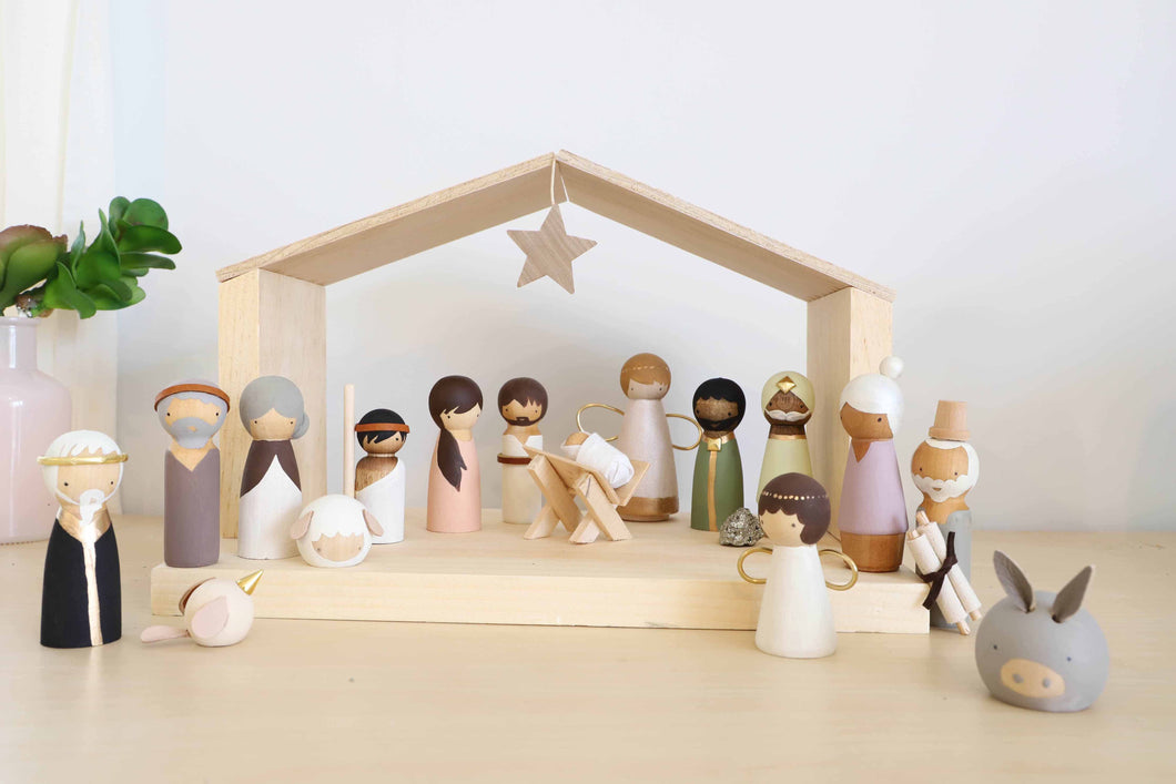The Rescuer - Nativity Advent Set