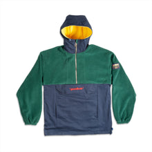GOODBOIS RAW FLEECE ANORAK GREEN