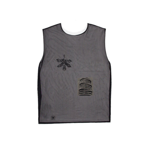 RUH.INSTITUTE X KRASIVITY METALLIC tank top