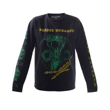 RUH.INSTITUTE X A.A.TATTOOER IN GREEN long sleeve