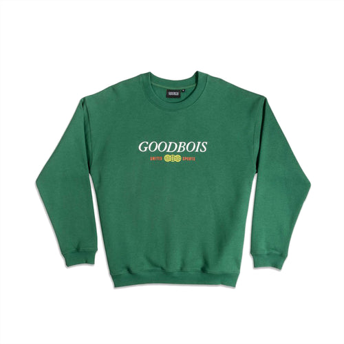 GOODBOIS CLASSIC TRADEMARK CREWNECK FOREST