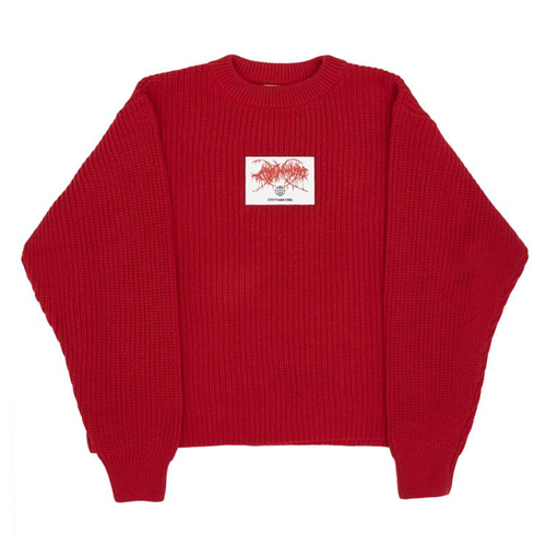 SPUTNIK 1985 Ultralove Red Sweater