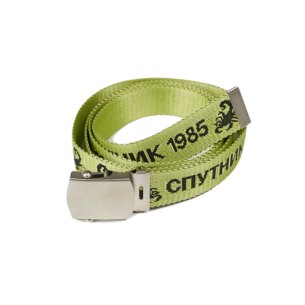 SPUTNIK 1985 Logo Belt Yellow