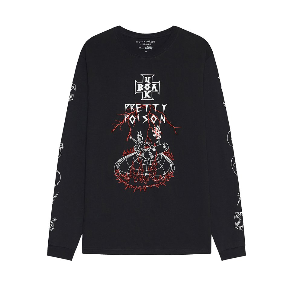 ВОЛЧОК х PRETTY POISON Longsleeve POOL