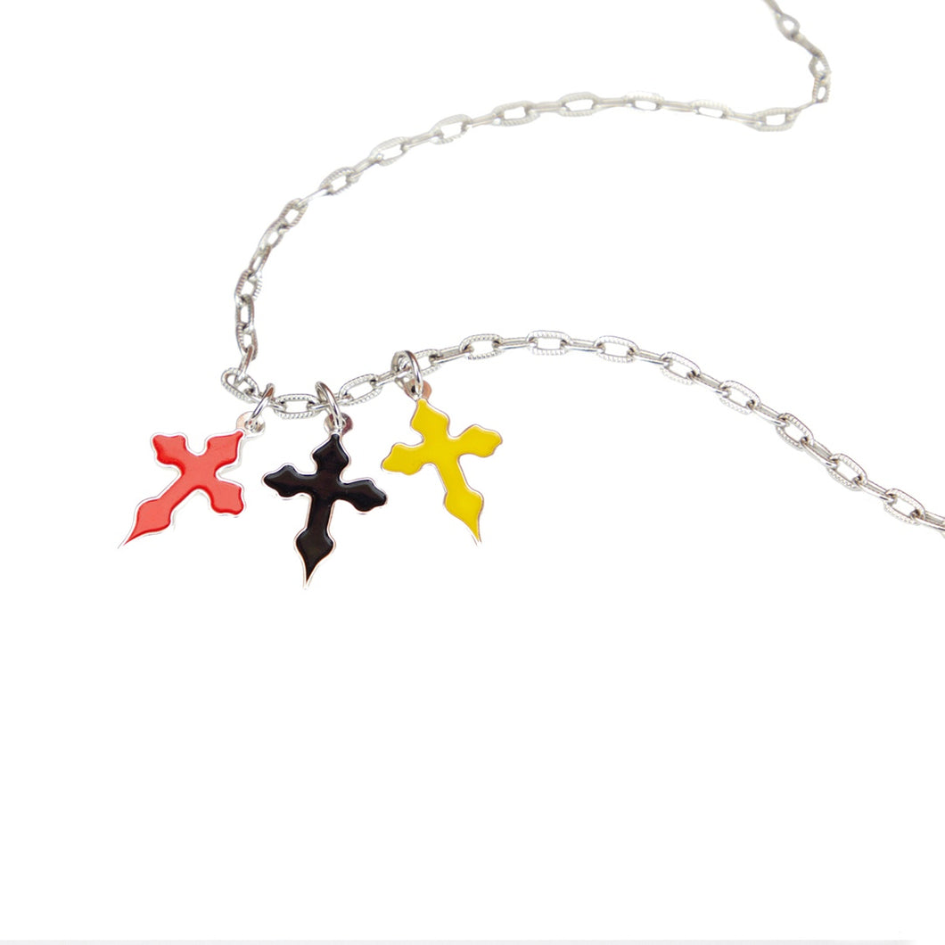Volchok HOLY CROSS necklace