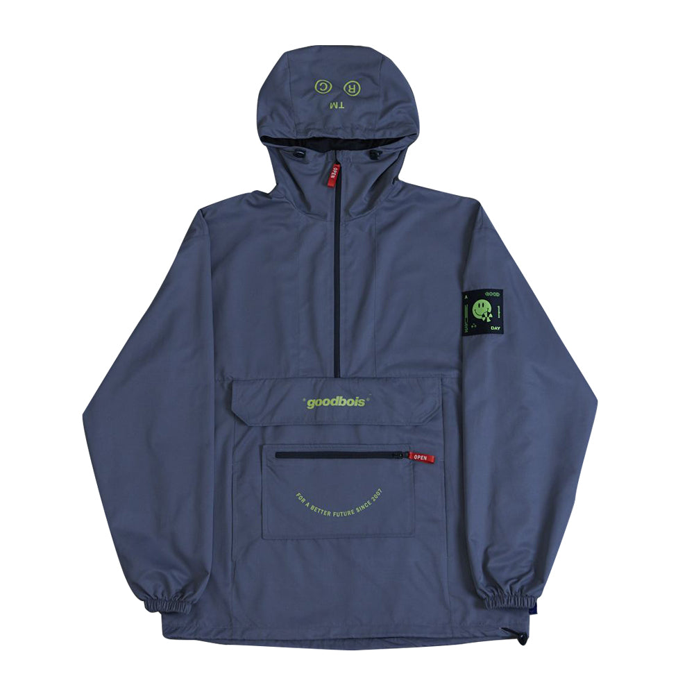 GOODBOIS Future Anorak Grey