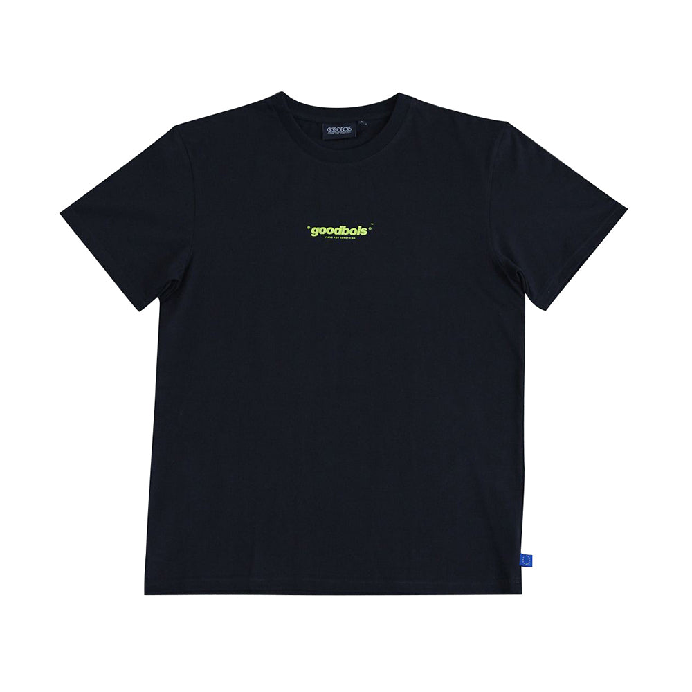 GOODBOIS Official Smiley T-Shirt Black