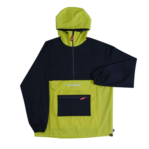 United Double Pocket Anorak Black