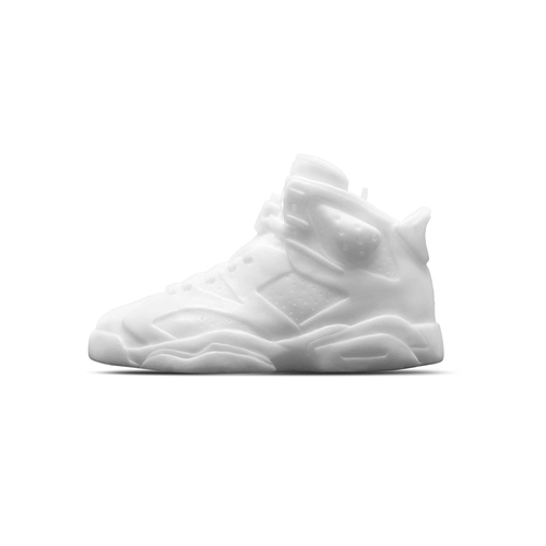 Sneaker candle Air Jordan VI White