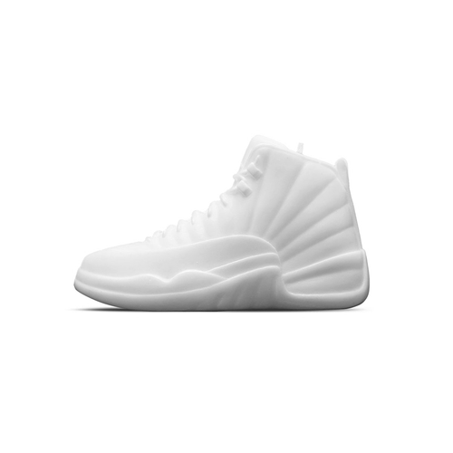 Sneaker candle Air Jordan XII White