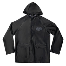 Endayz smiley raincoat black