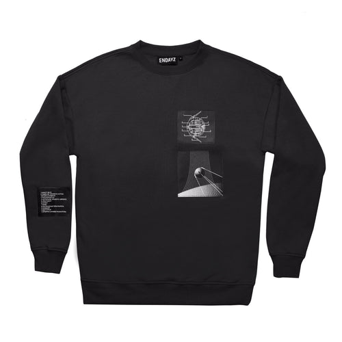 Endayz PS-1 sweatshirt black