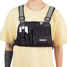 Endayz utility chest bag black
