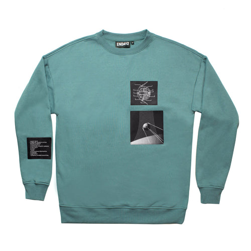 Endayz PS-1 sweatshirt dusty