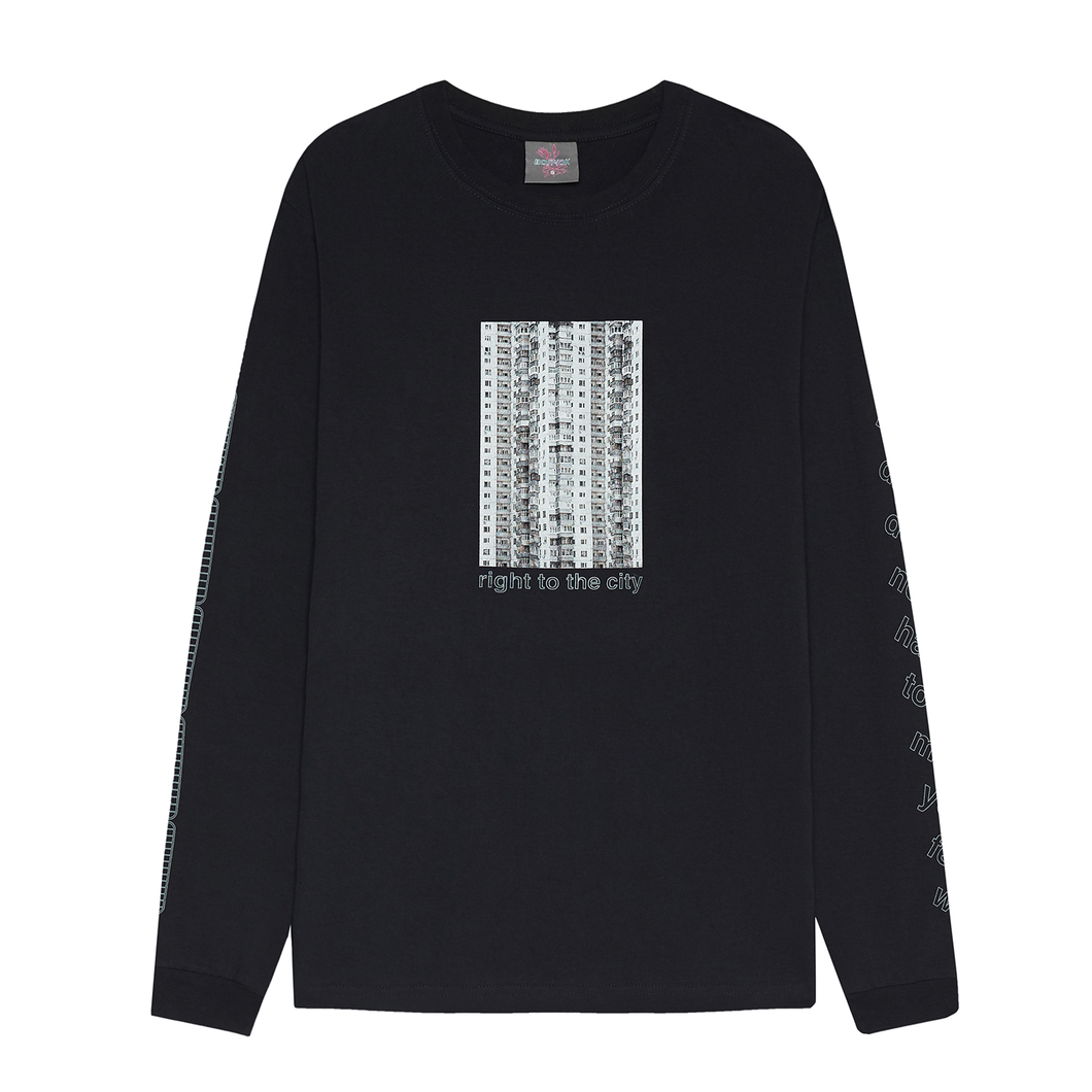 Volchok CIty Long T-shirt Black