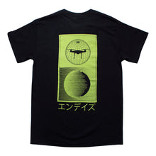 Endayz Day Zero Globe Black T-Shirt
