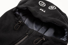 GOODBOIS RAW FLEECE ANORAK BLACK