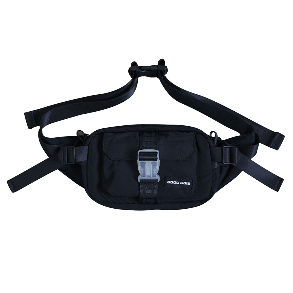 GOODBOIS Euro Tech Waist Bag Black